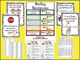 Smiley Sentences Writing Rubric Pack