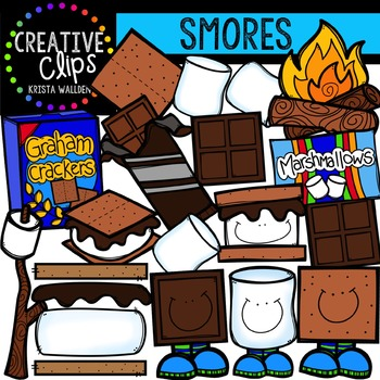 S'more Please {Creative Clips Digital Clipart}