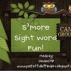 S'more Sight Words: Dolch for Kindergarten and First Grade