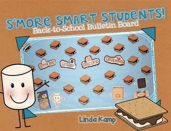 S'more Smart Students!   Back to School Bulletin Board Display