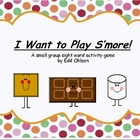 S'mores Sight Words Game /  CVC Word Game for Small Group