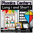 Sneaky E Word Work Activities {long and short i}