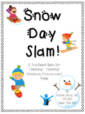 Snow Day Slam!  A Fast-paced Game for Listening for Details