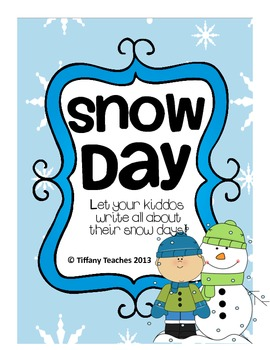 Snow Day Writing *FREEBIE*