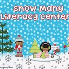 Snow Many Literacy Centers
