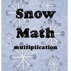 Snow Math - Multiplication
