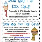 Snow Much Fun Task Cards