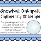 Snowball Catapult: Engineering Challenge Project ~ Great S