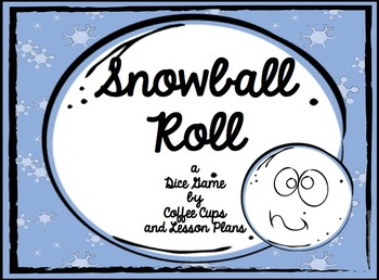 Snowball Multiplication Task Cards and Game