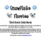 Snowflake Flurries Third Grade Dolch Sight Word Game
