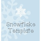 Snowflake Template (Fold and Cut Activity)