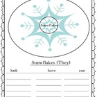Snowflake Writing Freebie