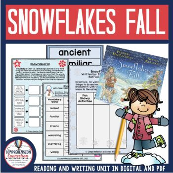 Snowflakes Fall Guided Reading  Unit by Patricia MacLachla