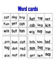 Snowman CVC Word Matching Game