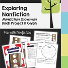 Snowman Non-fiction Book Project (Writing &  Glyph) with Rubric