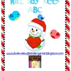 Snowman Roll Say Keep ABC