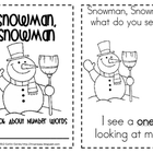 Snowman, Snowman: Number Words