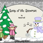 Snowman Song/Winter songs/Elementary Music/Primary Music