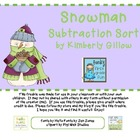 Snowman Subtraction Sort