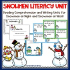 Snowmen Literacy Unit