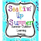 Soakin' Up Summer - Outdoor Summer Activities Learning Sta