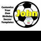 Soccer Happy Birthday Templates Bulletin Board Set