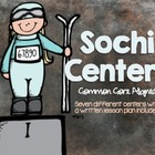 Sochi Centers - 7 Winter Games Centers ( Common Core Aligned)