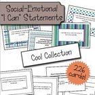 "Social Emotional ""I Can"" Cards - Cool Colors"