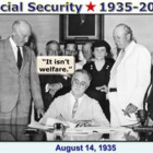 Social Security History  1935-2014