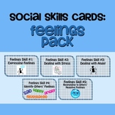 Social Skills Cards: Feelings Pack