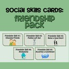 Social Skills Cards: Friendship Pack