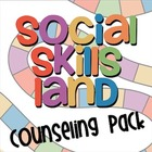 Social Skills Land Game - Counseling Pack