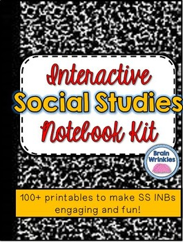 Interactive Social Studies Notebook Kit -- 80+ Printables & Activities