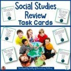 Social Studies Review: Scoot or Task Cards
