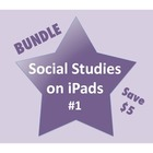 Social Studies on iPads Bundle #1 (Common Core Aligned!)