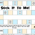 Sock It To Me Games for Sixth 100 Fry Words