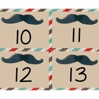 Sock Monkey Add-on FREEBIE!  Number Cards 10-25