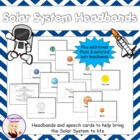 Solar System Kinaesthetic Hats w assembly cards