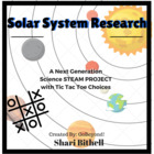 Solar System Research - Tic Tac Toe Multiple Intelligence