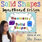 Solid Shapes Notebook