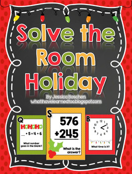 Solve the Room {December Holiday}