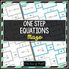 Solving 1-step Equations Maze