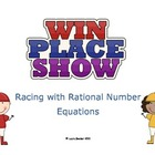 Solving Equations: Racing with Rational Numbers (decimals