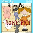 Some Pig Story Clip Art C. Seslar