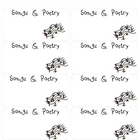 Song and Poetry Folder Labels