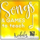 Songs and Games to Teach Half Note {Bundle}