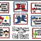 Songs of the Old West Bulletin Board Kit