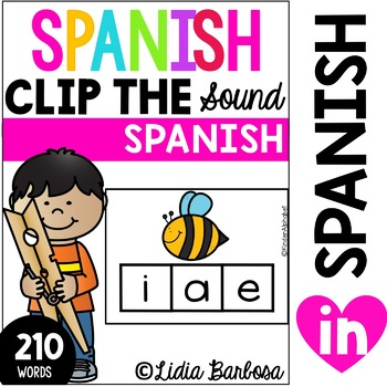 Spanish Alphabet- Clip the Sound