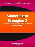 Sonnet Extra Examples 3