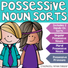Sort it Out! (Possessive Nouns)-Common Core Aligned